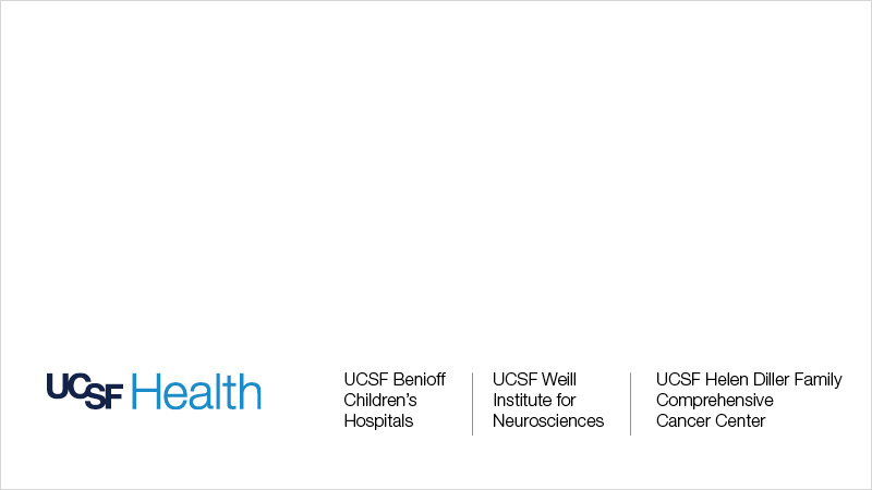 UCSF Health logo with subbrands