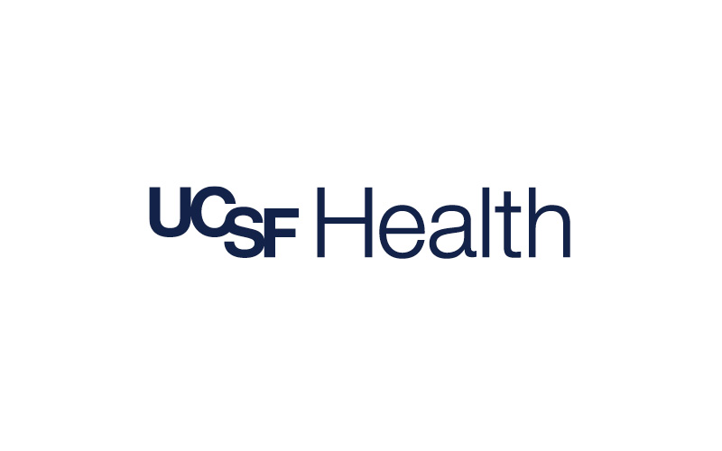 ​​​​UCSF Health logos in navy