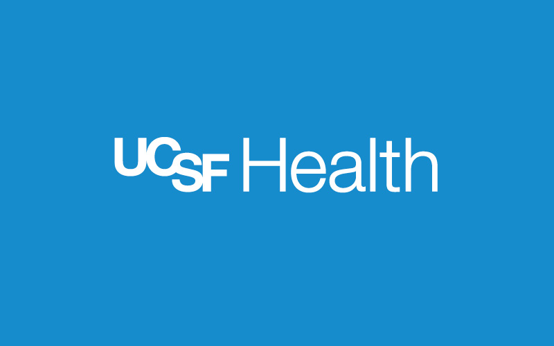 UCSF Health logo in white