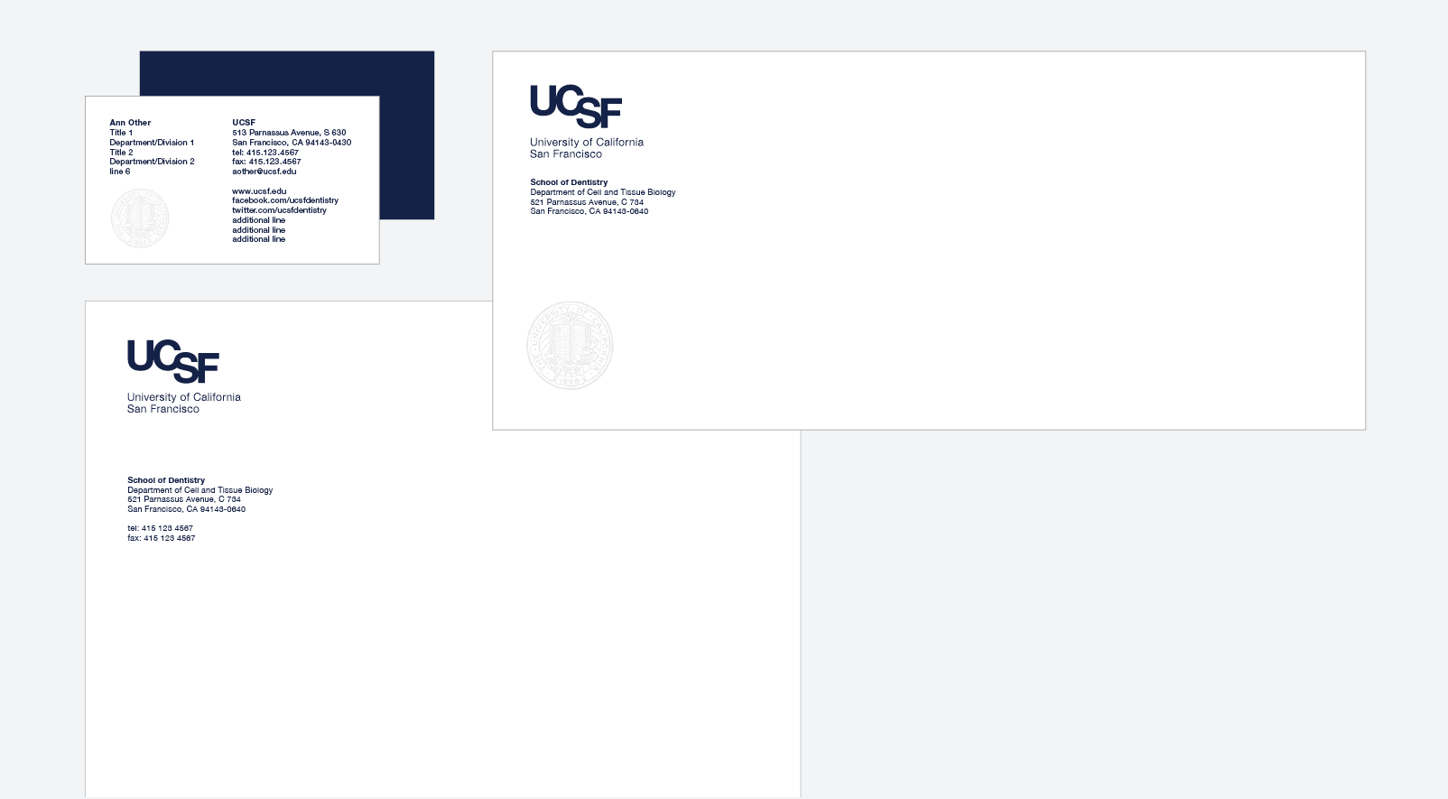 ucsf stationery